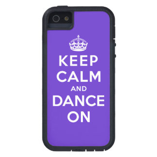 Keep Calm and Dance On iPhone 5 Cases