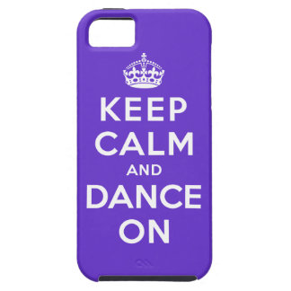 Keep Calm and Dance On iPhone 5 Cover