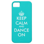 Keep Calm and dance on iPhone case | Customisable