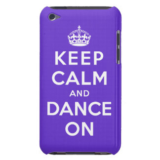 Keep Calm and Dance On iPod Case-Mate Case