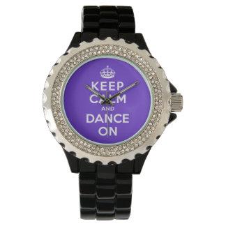 Keep Calm and Dance On Watch