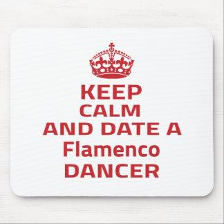 Keep calm and date a Flamenco dancer Mousepads