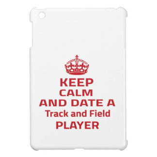 Keep calm and date a Track and Field player iPad Mini Cases
