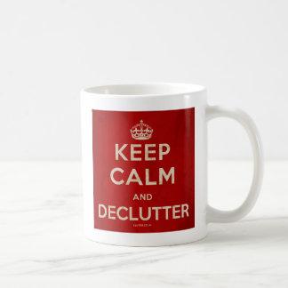 'Keep Calm And Declutter' Mug