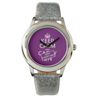 Keep Calm and Deny Everything - all colors Watch