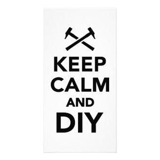 Keep calm and DIY Photo Card