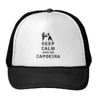 Keep Calm and Do Capoeira Cap