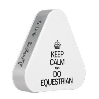 KEEP CALM AND DO EQUESTRIAN BLUETOOTH SPEAKER
