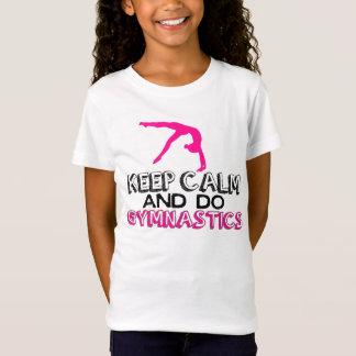 Keep Calm and Do Gymnastics Tshirt