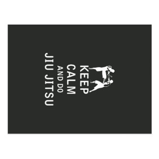Keep Calm and Do Jiu-Jitsu Postcard