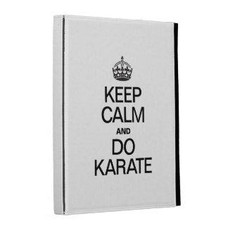 KEEP CALM AND DO KARATE iPad CASE