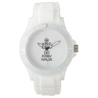 KEEP CALM AND DO KRAV MAGA.ai Watch
