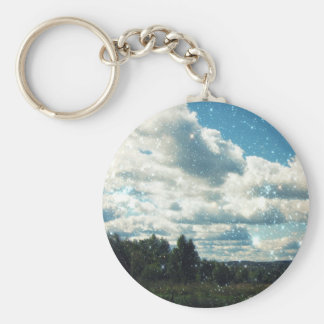 Keep Calm and do not Compare Yourself with Others Basic Round Button Key Ring