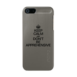 KEEP CALM AND DON'T BE APPREHENSIVE INCIPIO FEATHER® SHINE iPhone 5 CASE