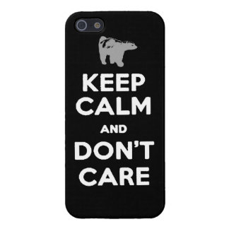 keep calm and dont care honey badger phone case case for the iPhone 5