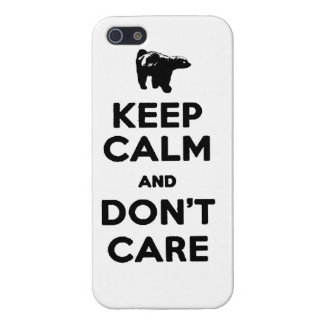 keep calm and dont care honey badger phone case cover for iPhone 5/5S