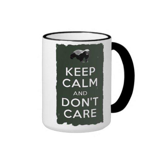 Keep Calm and Don't Care Mug