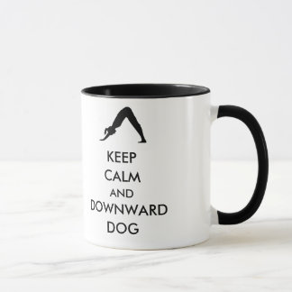 Keep Calm and Downward Dog Mug