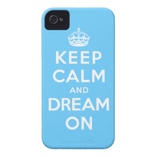 Keep Calm and Dream On iPhone 4 Case