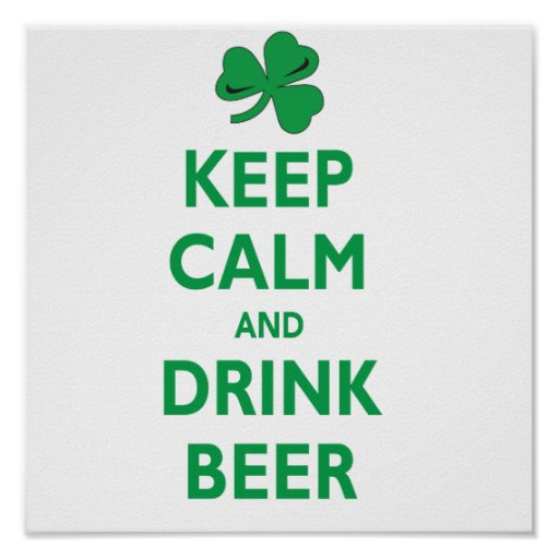 Keep-calm-and-drink-beer Poster
