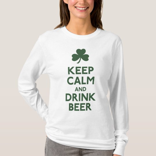 Keep Calm and Drink Beer Shirt
