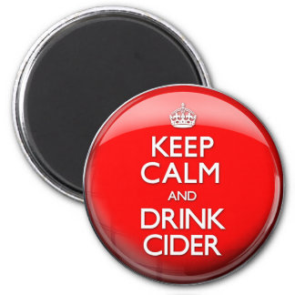 Keep Calm and Drink Cider (Carry On) Magnet