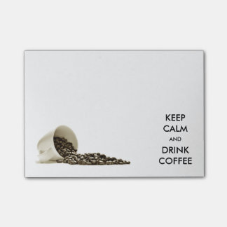 Keep Calm and Drink Coffee Post-it Notes