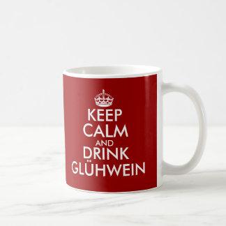 Keep calm and drink Glühwein Christmas mugs