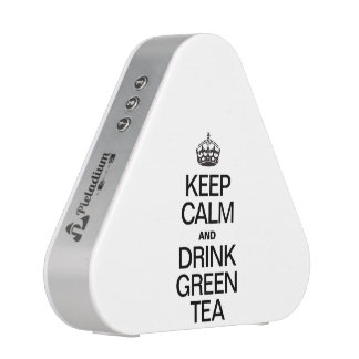 KEEP CALM AND DRINK GREEN TEA BLUETOOTH SPEAKER