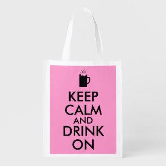 Keep Calm and Drink On Beer Soda Root Beer Lovers