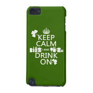 Keep Calm and Drink On (irish st patricks) iPod Touch 5G Cover