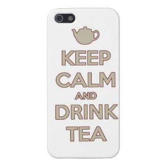 KEEP calm and drink tea iPhone 5/5S Case