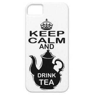Keep Calm and Drink Tea iPhone 5 Case
