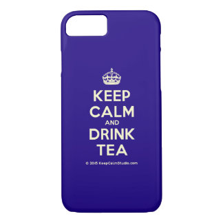 Keep Calm and Drink Tea iPhone 7 Case