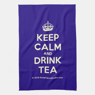 Keep Calm and Drink Tea Tea Towel
