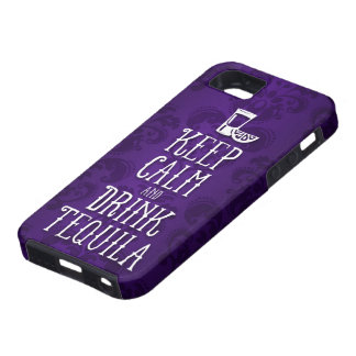 Keep Calm and Drink Tequila iPhone 5 Cover