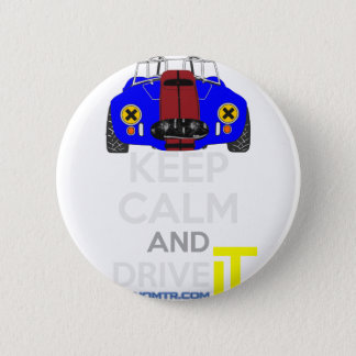 Keep Calm and Drive IT - cod. 1965Cobra427 6 Cm Round Badge