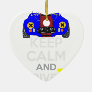 Keep Calm and Drive IT - cod. 1965Cobra427 Christmas Ornament