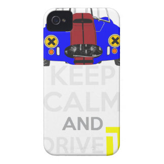 Keep Calm and Drive IT - cod. 1965Cobra427 iPhone 4 Cases