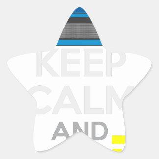 Keep Calm and Drive IT - cod. 1967GT40 Star Sticker
