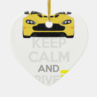 Keep Calm and Drive IT - cod. A-SVantageS Christmas Ornament