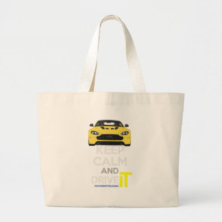 Keep Calm and Drive IT - cod. A-SVantageS Large Tote Bag