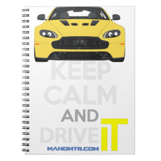Keep Calm and Drive IT - cod. A-SVantageS Notebook