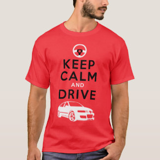 Keep Calm and Drive -Leon- /version3 T-Shirt