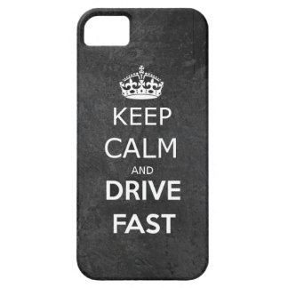 Keep Calm and drive nearly iPhone 5 Cover