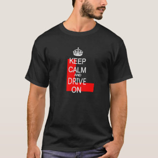 Keep Calm and Drive on L plate T-Shirt