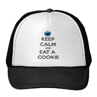 Keep Calm and Eat a Cookie Cap