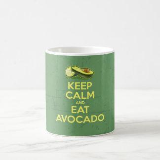 Keep Calm And Eat Avocado Coffee Mug