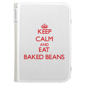 Keep calm and eat Baked Beans Kindle Cover