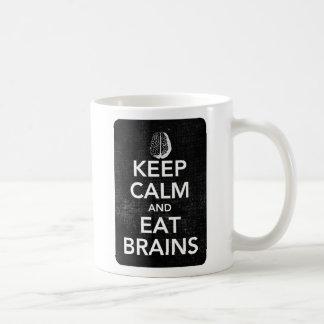 Keep Calm and Eat Brains Mug